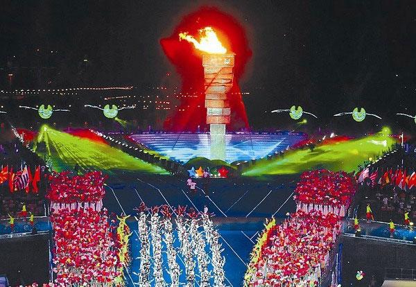 青春的盛宴 第26届世界大学生运动会开幕式侧记