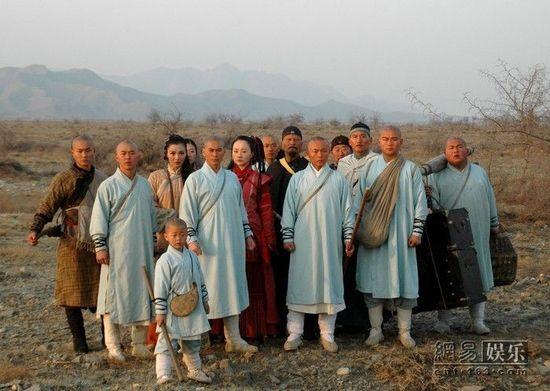 少林寺传奇 全国收视第二 央视一播再播