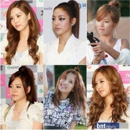 炎热夏日长发变短发 追随明星巧学改变发型妙招图片