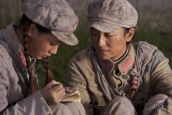 演女人版《士兵突击》