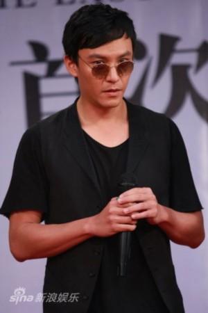 图文:《王的盛宴》发布会-张震饰演韩信