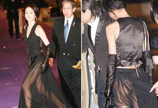女星不穿底裤被偷拍大联展组图