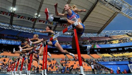 (体育)(1)田径——世锦赛:女子七项全能预赛-田径世锦赛29日预