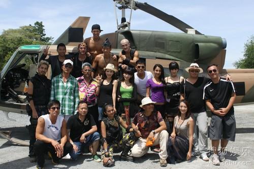 美女动作电影《五星上将》正于泰国拍摄当中