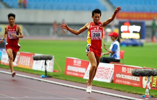 (体育)(1)田径——2011全国田径锦标赛暨奥运会达标赛:男子...