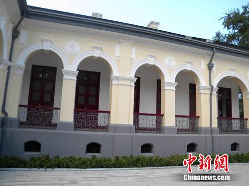南京总统府孙中山办公楼百年来首次大修缮