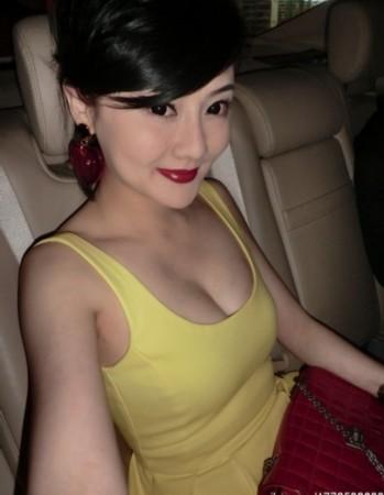 模特戴琳极品150p图片_戴琳女友乳沟迷人