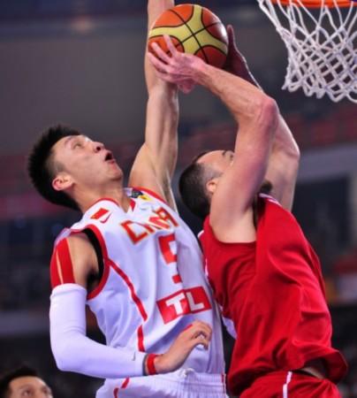 中国篮球:中国蓝队打约旦主教练说出姚明当年的话很不错啊