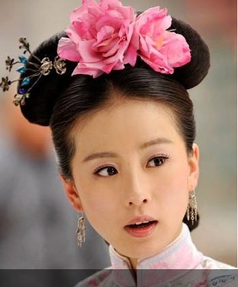 《步步惊心》刘诗诗穿越妆容 若曦古今皆惊艳
