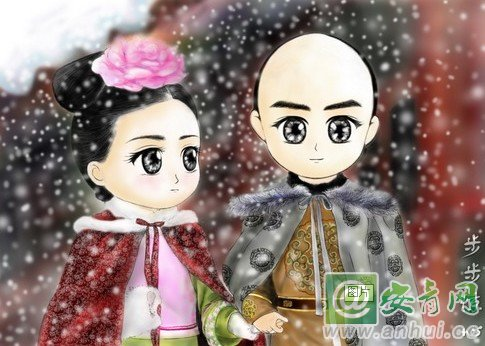 《步步惊心》结局 若曦与四爷相遇不相识 网友