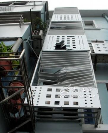 楼房供电电路图