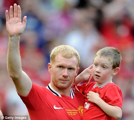 斯科尔斯 为何退出英格兰队 3孩子1曼联死忠1患自闭症