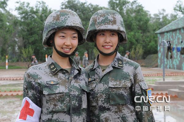 美军朝鲜干了中国女兵