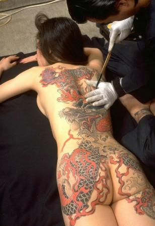 纹身(图)2011.09