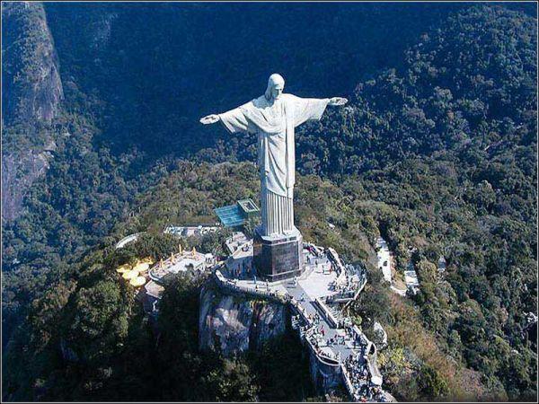 巴西里约将隆重庆祝基督像落成80周年(图)
