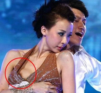 台湾第一美女萧蔷露乳头震撼瞬间图
