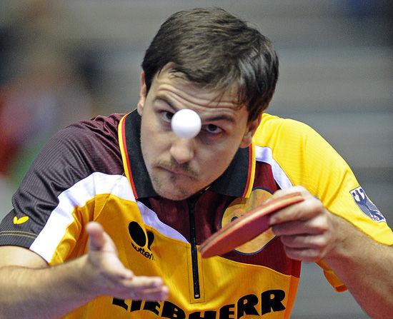乒乓球欧锦赛波尔晋级4强 波尔依旧夺冠大热