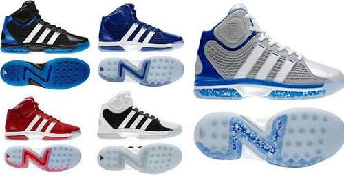 nba限量版球鞋图片