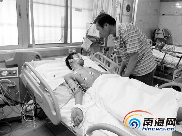 万宁市人民医院患者输液过程中昏迷不醒图片