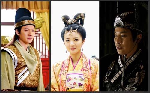 宫廷电视剧《后宫》正在浙江卫视热播,且佳绩频传.随着剧情高清图片