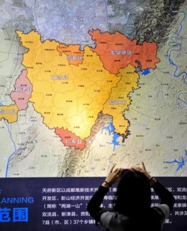 天府新区龙泉片区 划定30平方公里起步区图片