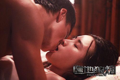 小宋佳激情相吻