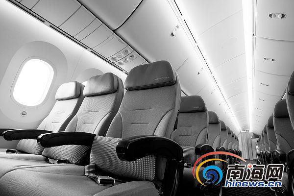 波音787客机海口巡展 揭秘全球首架 梦想飞机