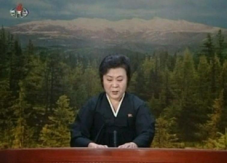 高清:朝鲜女主播李春姬流泪播报金正日死讯