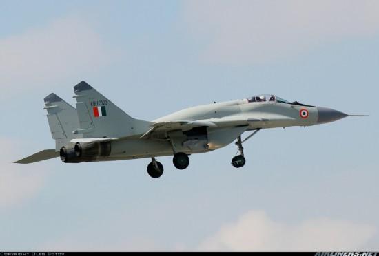图 印度升级型米格 29UPG下线首飞