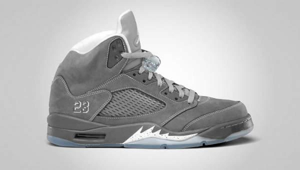 aj高帮灰色篮球鞋
