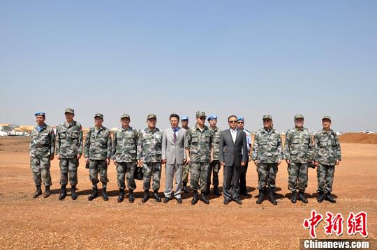 南苏丹有那些维和部队