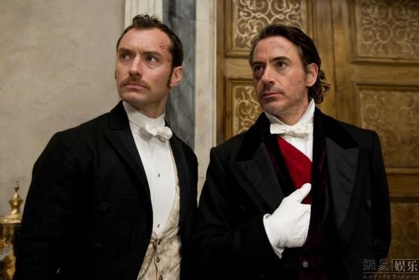 福尔摩斯与华生-福尔摩斯2 公映 2012年首部好莱坞大片来袭