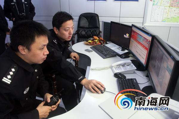 春节坚守岗位海口警察:多一份辛苦多一份v岗位黄切包情表瓜图片