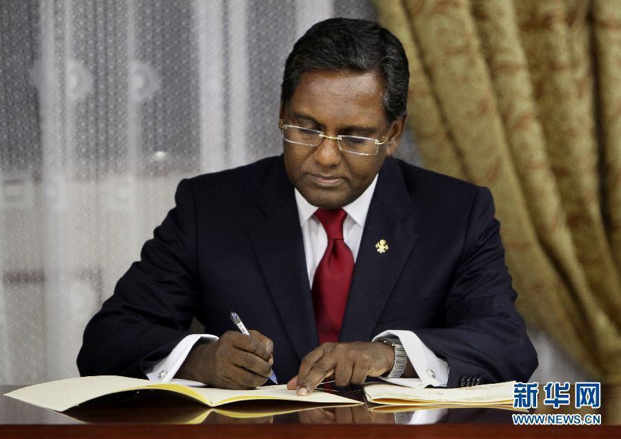 马尔代夫总统辞职副总统接任 军方否认政变[图]