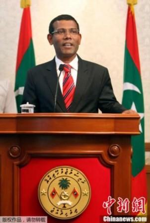 马尔代夫前总统称被迫辞职 副总统可能熟悉内情
