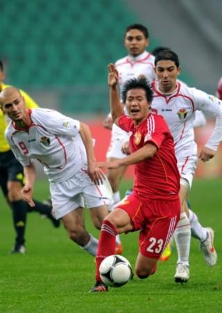 国足1-1战平约旦_图文-[世预赛]国足3-1约旦