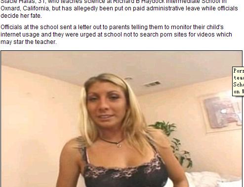 曰本成人电影_美一女教师拍成人电影 被学生浏览色情网站时发现(图)