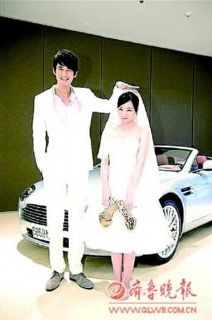 郭品超(左一)和陈怡蓉.-偶像剧 爱啊哎呀,我愿意 深圳卫视独播