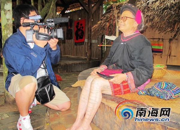 ebs电视台_韩国ebs电视台到海南槟榔谷景区取景