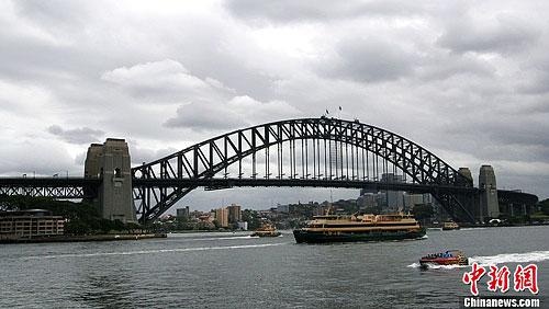 悉尼港湾大桥欢度正式通车80周年