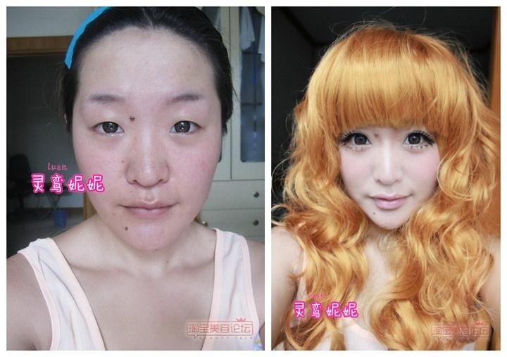 网络红人展示神奇化妆术 网友:亲妈都不认识