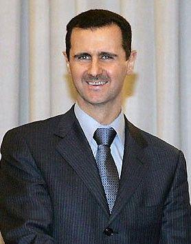 俄媒称巴沙尔视察霍姆斯时遭 密集射击