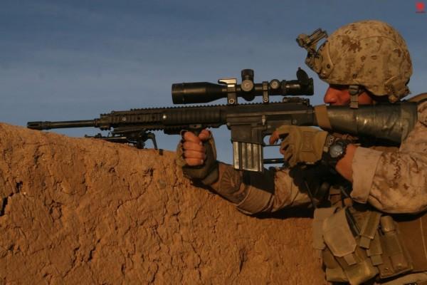 ...美军士兵都用啥狙击步枪