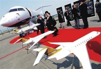 北京民营企业也与中国公务航空集团签约,购买了3架挑战者605型号飞机
