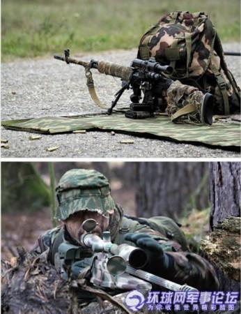 特种部队狙击手在训练-俄罗斯特种部队挺洋气