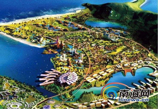 """海南国际旅游岛先行试验区计划""""三年成势,五年成形,十年成城""""."""
