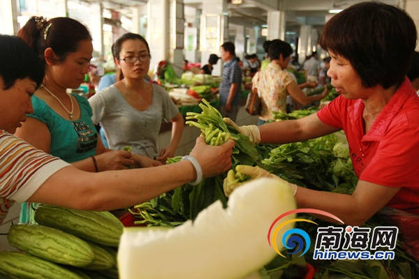 海口承诺平价菜供应延长至春节将再增3到5个品种