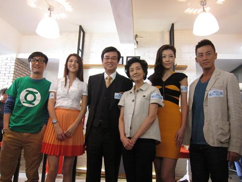 《男人如衣服》香港开机图片