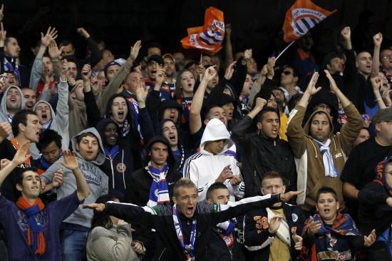 蒙彼利埃法甲联赛首夺冠