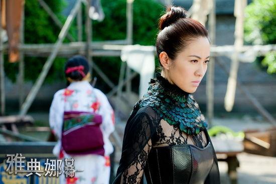 叶璇,莫小棋,刘恩佑,巫迪文领衔主演的电视剧《雅典娜女神》正在拍摄图片